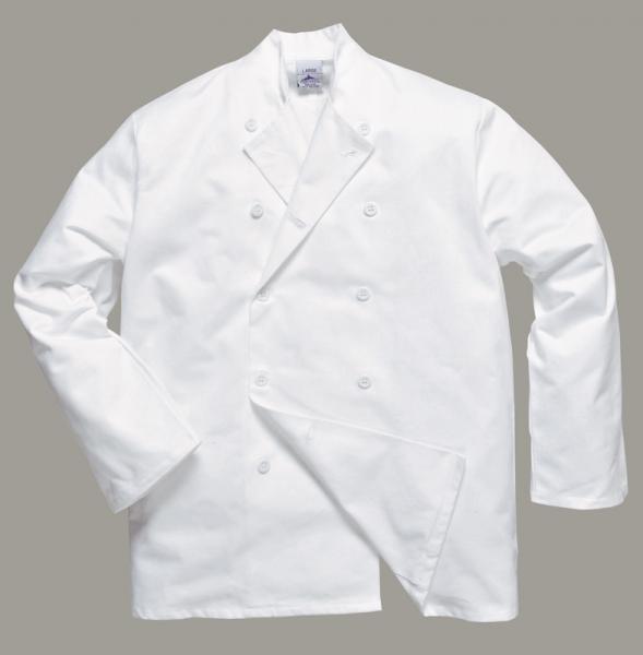 Prodotti   Abbigliamento da lavoro Protettivo Multisettore   ABBIGLIAMENTO  RISTORAZIONE E ALIMENTARISTI   CUCINA CHEF   GIACCA CHEF SUSSEX 950bd41f605d