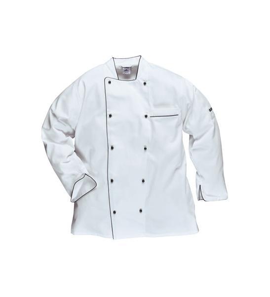 Prodotti   Abbigliamento da lavoro Protettivo Multisettore   ABBIGLIAMENTO  RISTORAZIONE E ALIMENTARISTI   CUCINA CHEF   GIACCA CHEF EXECUTIVE c843677d50cb