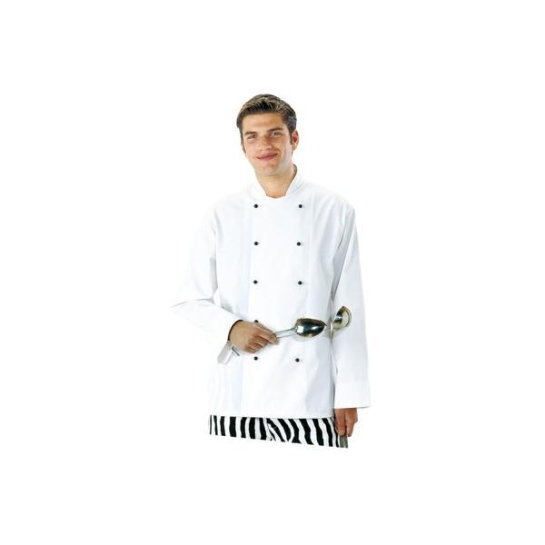 Prodotti   Abbigliamento da lavoro Protettivo Multisettore   ABBIGLIAMENTO  RISTORAZIONE E ALIMENTARISTI   CUCINA CHEF   GIACCA CUOCO CORNWALL b1994257a022
