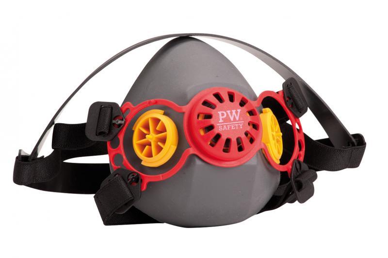maschera antipolvere da lavoro